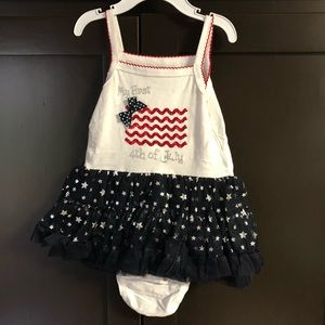 My first 4th of July tutu dress